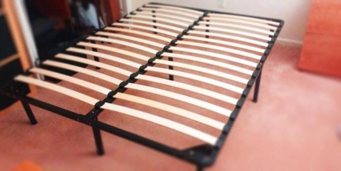 Ágyrács típusok - rugalmas ágyrács